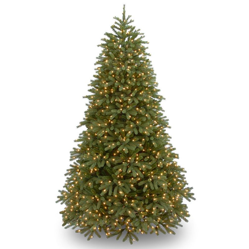 7.5-ft. Pre-Lit Multicolor LED ''Feel-Real'' Jersey Fraser Fir Christmas Tree