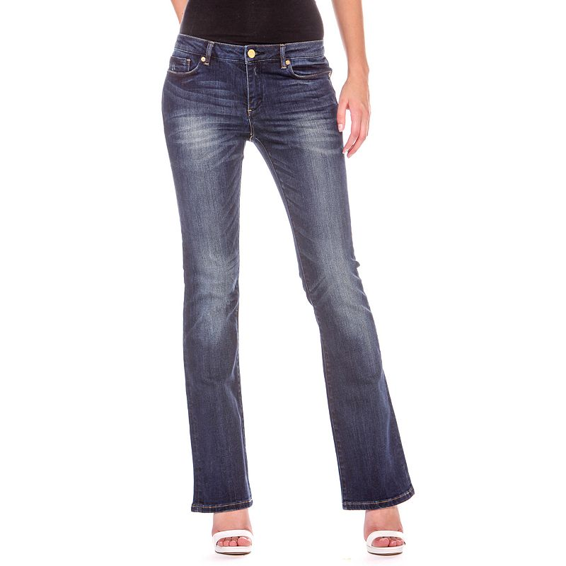 Chip 87 Whiskered Bootcut Jeans - Women's