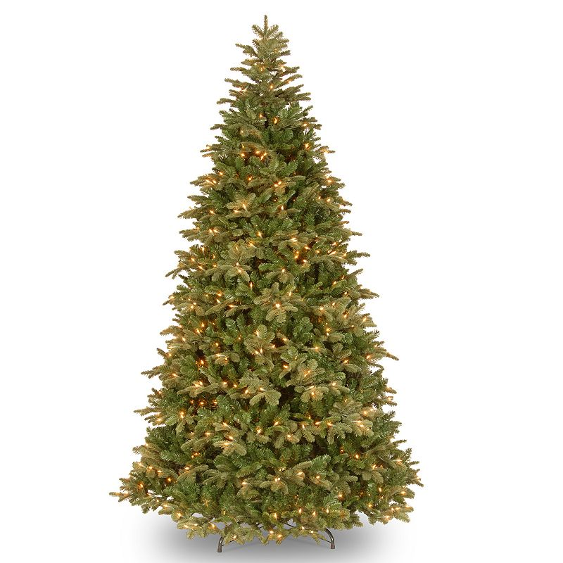 7.5ft Pre-Lit ''Feel-Real'' Northern Balsam Artificial Christmas Tree