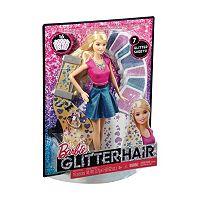 Barbie Glitter Hair Set