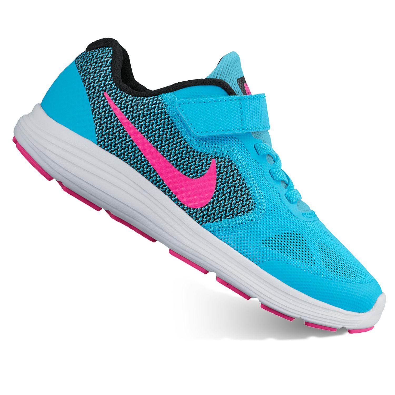 Nike Revolution 3 Pre-School Girls\u0026#39; Running Shoes