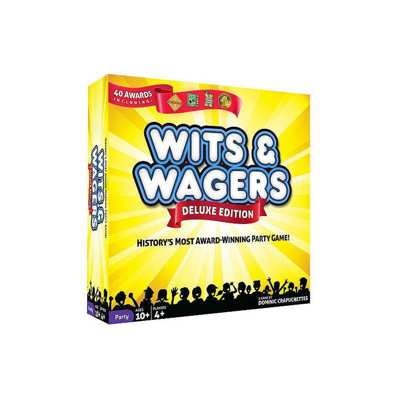 Wits & Wagers Deluxe Edition Game by North Star Games