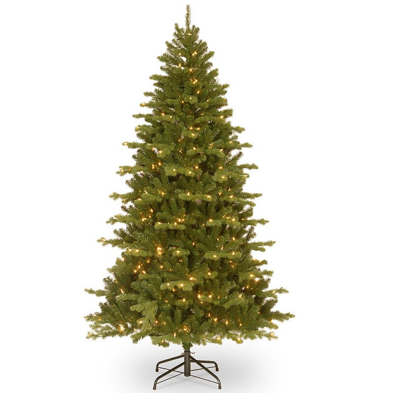 7.5-ft. Pre-Lit ''Feel-Real'' Sheridan Spruce Artificial Christmas Tree