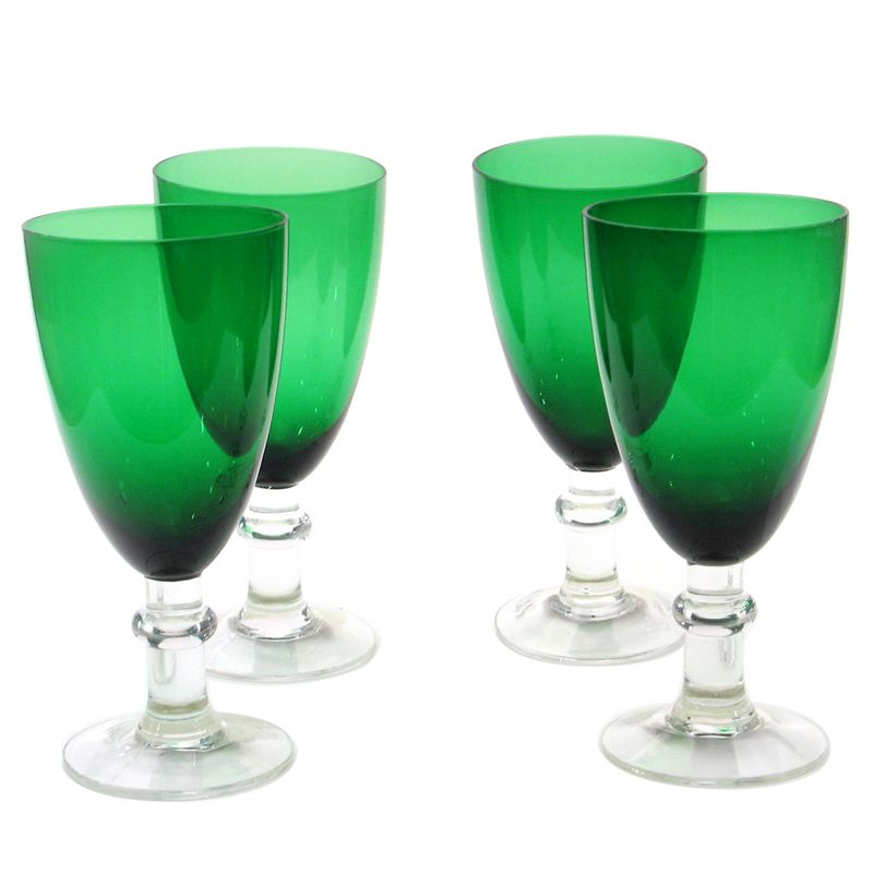 Certified International 4-pc. All-Purpose Goblet Set, Green thumbnail