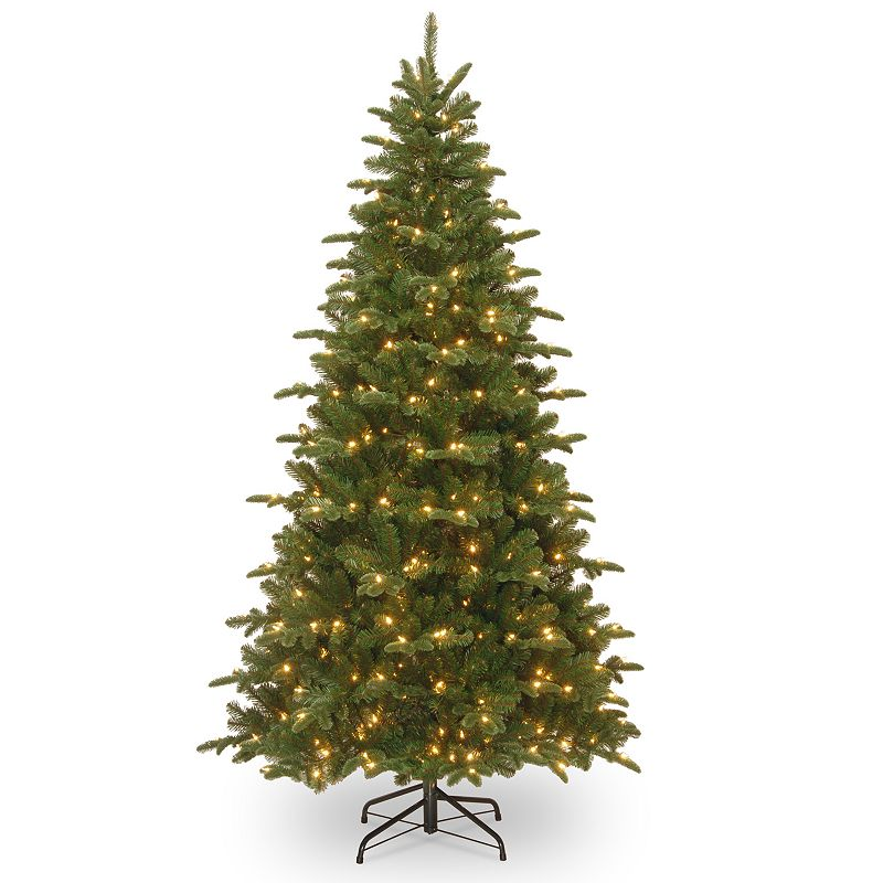 7.5-ft. Pre-Lit ''Feel-Real'' Everest Fir Artificial Christmas Tree
