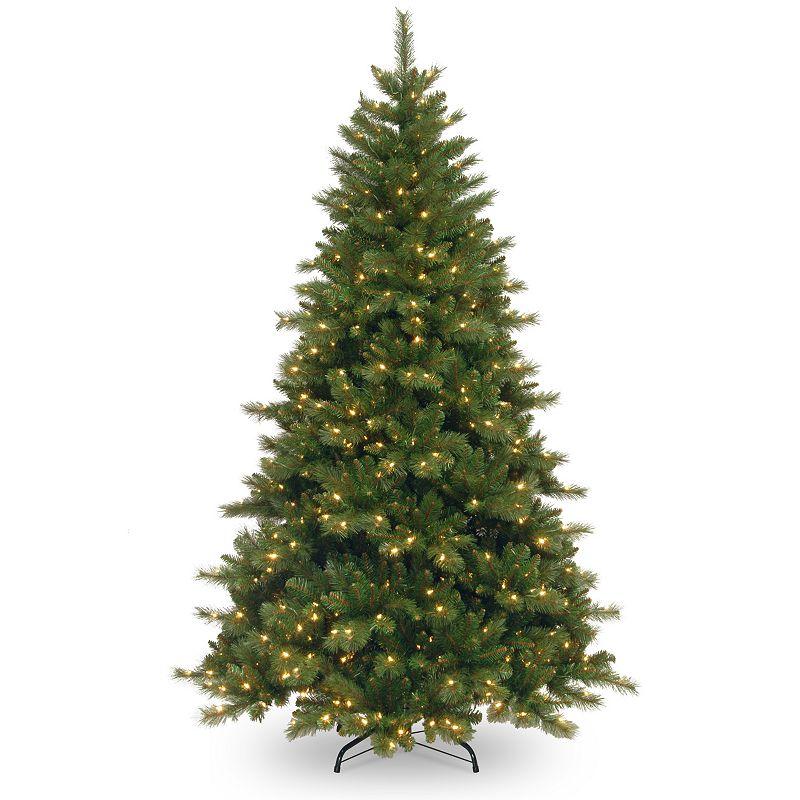 7.5-ft. Pre-Lit Portland Pine Artificial Christmas Tree