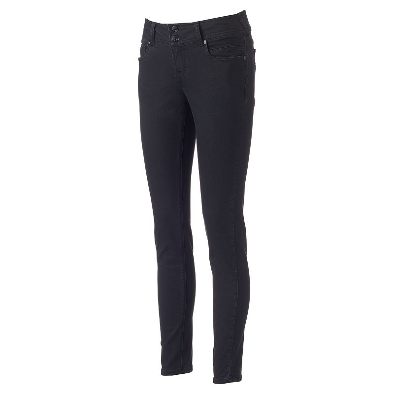 Juniors' Wallflower Ultra Luxe Curvy Skinny Jeans
