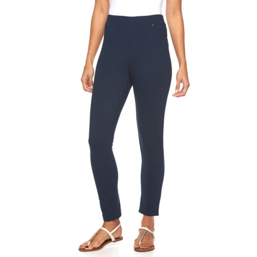 Women's Caribbean Joe Pull-On Ankle Pants
