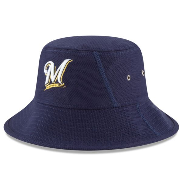 Adult New Era Milwaukee Brewers Clubhouse Bucket Hat