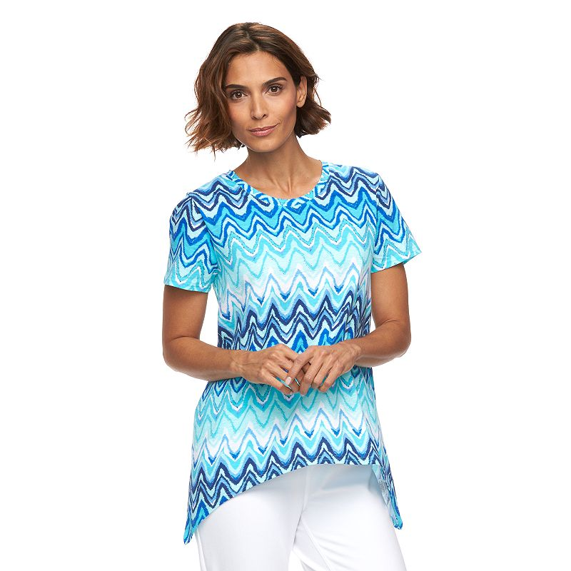 Women's Caribbean Joe Scoopneck Top