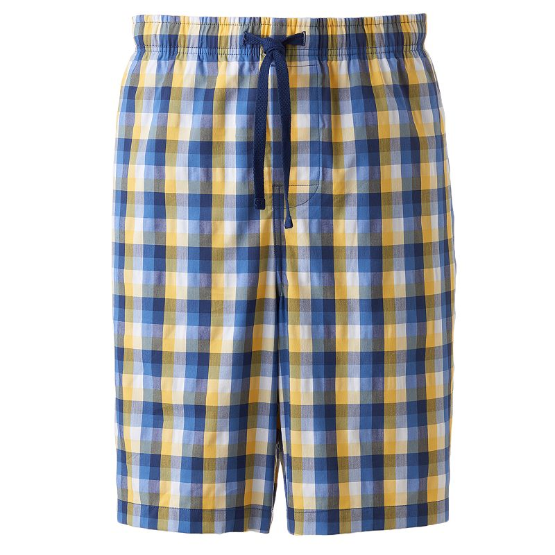 Men's Croft & Barrow® Plaid Stretch Jams Shorts