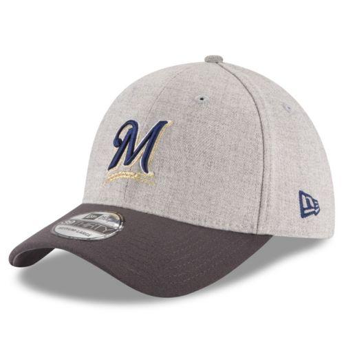 Adult New Era Milwaukee Brewers 39THIRTY Change Up Flex-Fit Cap