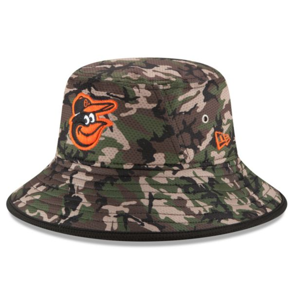 Youth New Era Baltimore Orioles Redux Camo Bucket Hat