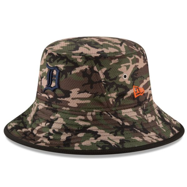 Youth New Era Detroit Tigers Redux Camo Bucket Hat