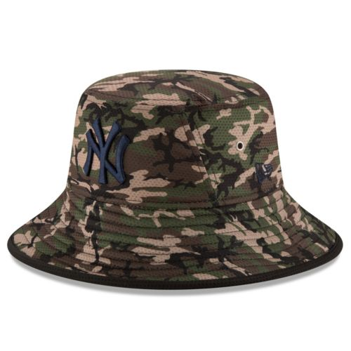 Youth New Era New York Yankees Redux Camo Bucket Hat