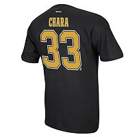 Men's Reebok Boston Bruins Zdeno Chara Premier Tee