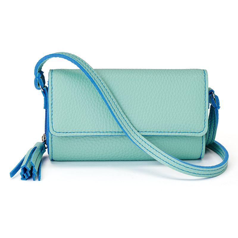 Croft & Barrow® Tassel Convertible Crossbody Bag