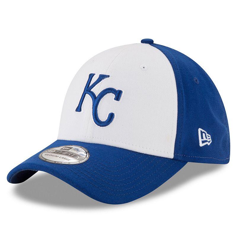 Adult New Era Kansas City Royals 39THIRTY 2 Tone Flex-Fit Cap