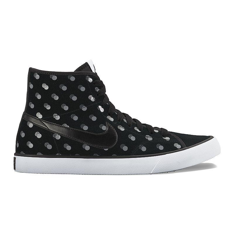 Nike Primo Court Women's Polka-Dot Mid-Top Sneakers