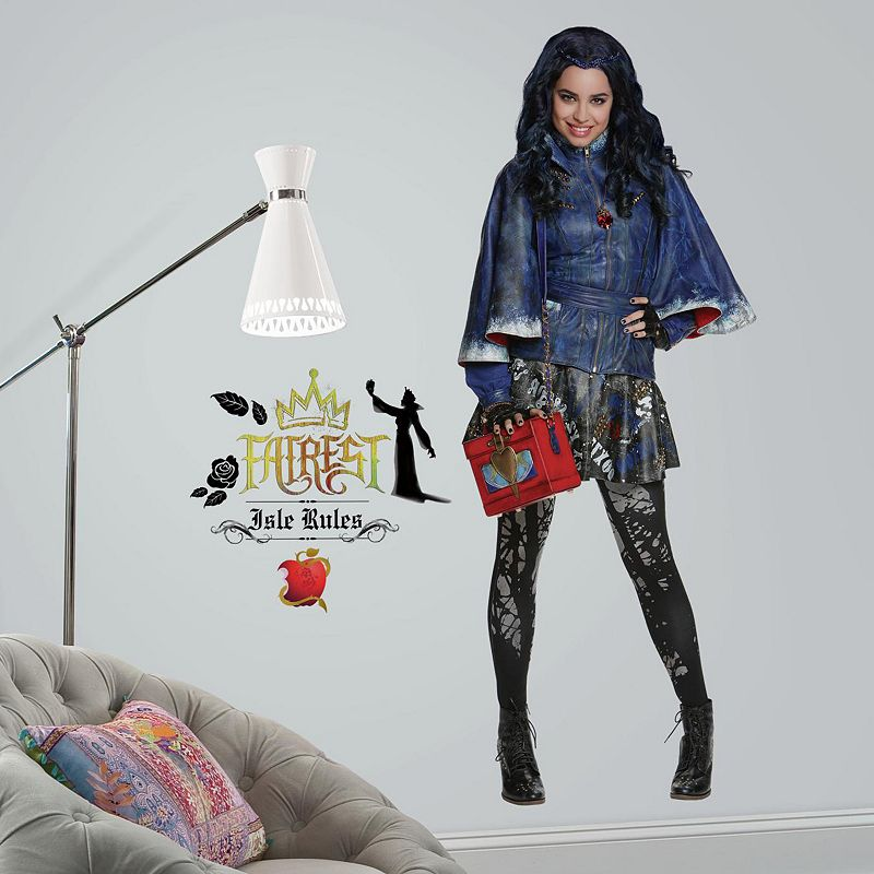 Disney's Descendants Evie Peel & Stick Giant Wall Decals