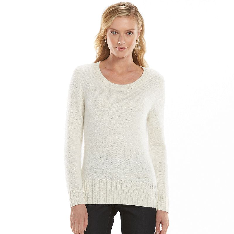 Women's Gloria Vanderbilt Ribbed Sweater