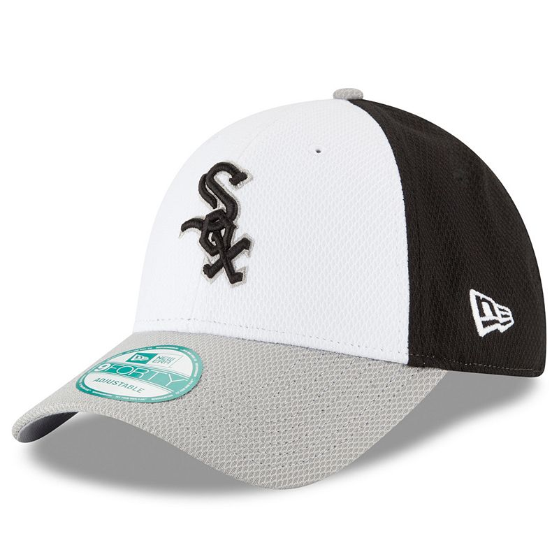 Adult New Era Chicago White Sox 9FORTY Performance Block Adjustable Cap