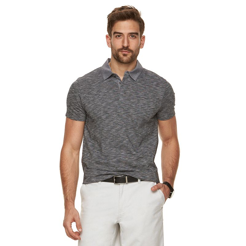 Men's Marc Anthony Slim-Fit Hidden-Placket Polo