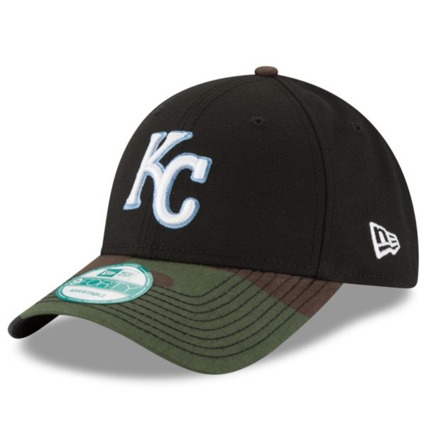 Adult New Era Kansas City Royals 9FORTY The League Camo Adjustable Cap