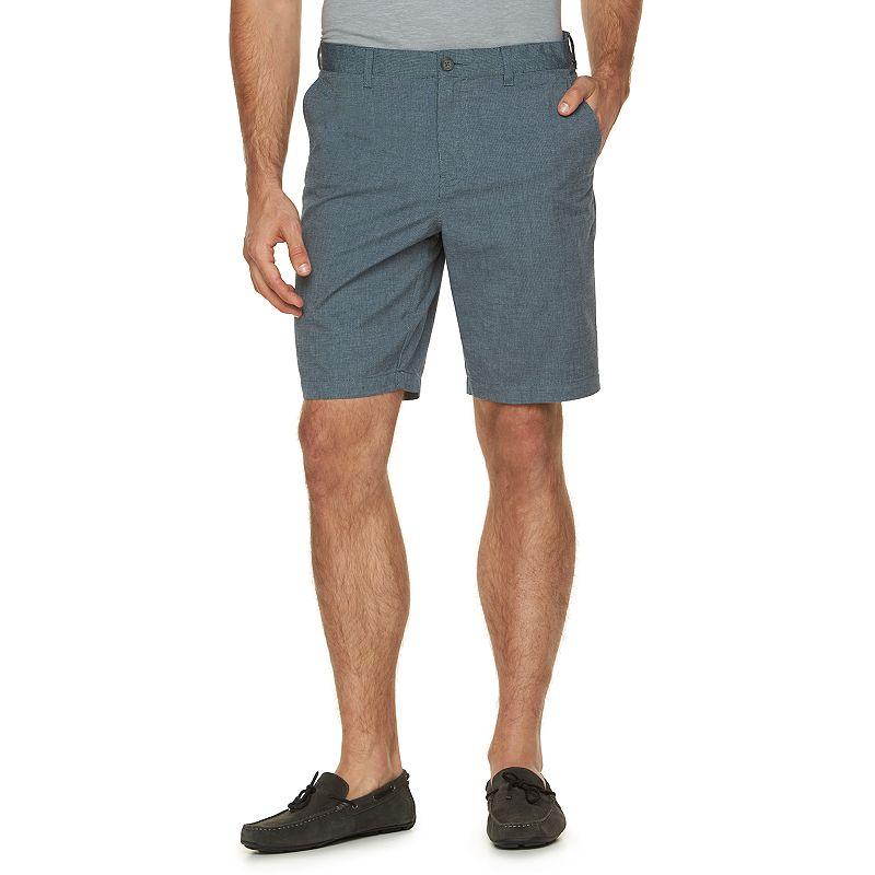 Men's Marc Anthony Slim-Fit Solid Birdseye Shorts