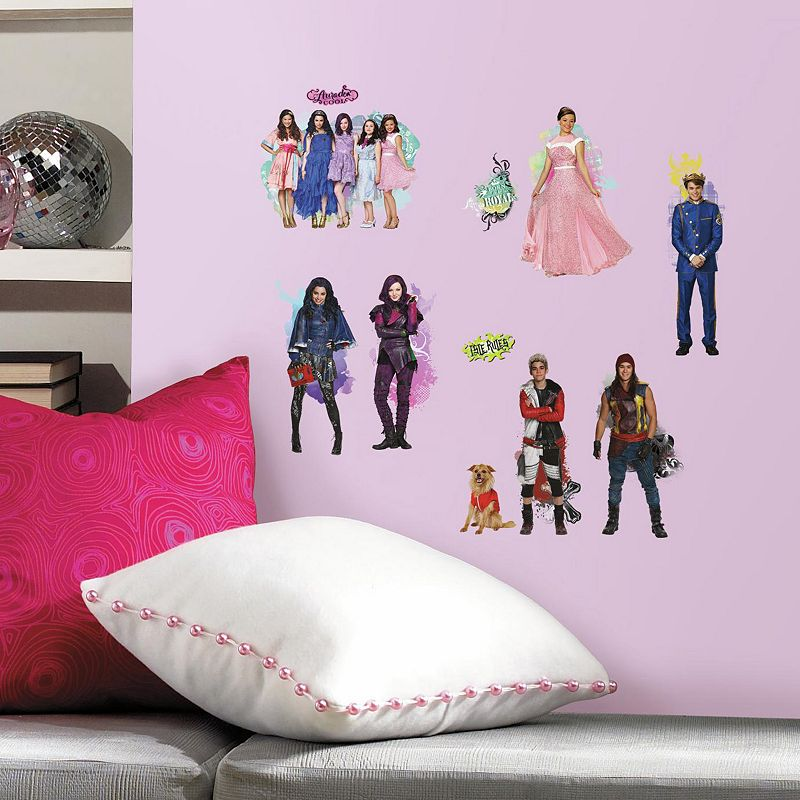 Disney's Descendants Peel & Stick Wall Decals