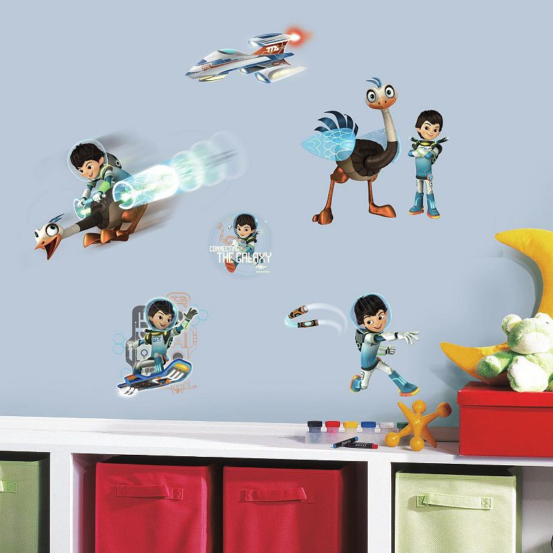 Disney's Miles From Tomorrowland Peel & Stick Wall Decals