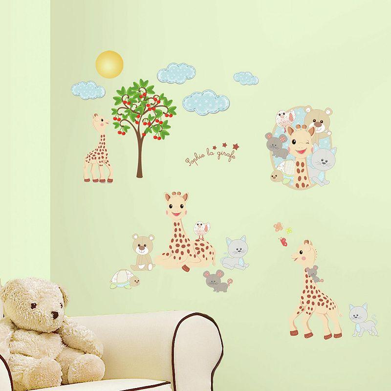 Sophie La Giraffe Peel & Stick Wall Decals