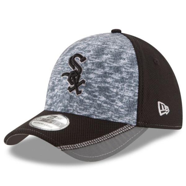 Adult New Era Chicago White Sox 39THIRTY Team Vigor Flex-Fit Cap