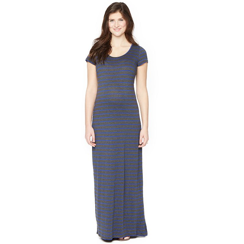 Maternity Oh Baby by Motherhood™ Striped Maxi Dress