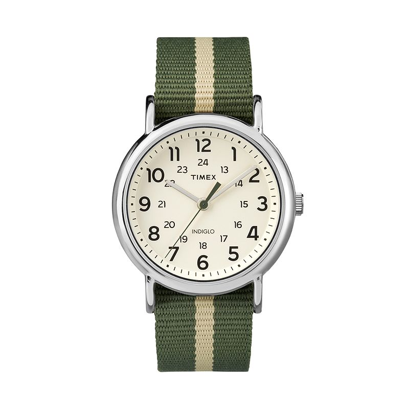 Timex mens weekender watch kohl 39 s for Watches kohls