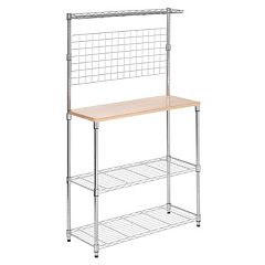 Honey-Can-Do 2 Shelf Urban Baker's Rack by