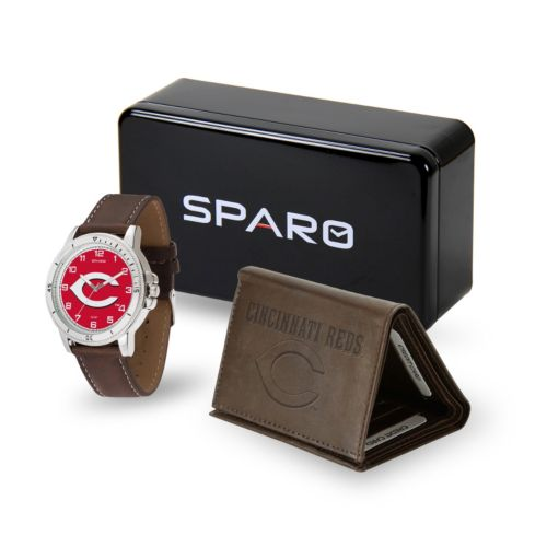 Sparo Cincinnati Reds Watch and Wallet Set - Men