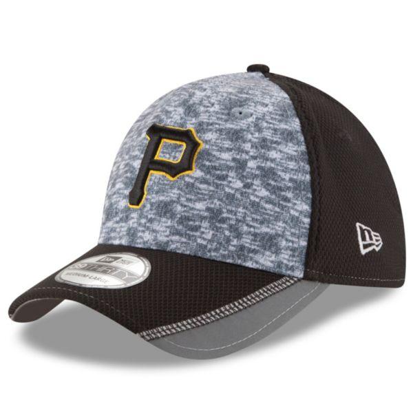 Adult New Era Pittsburgh Pirates 39THIRTY Team Vigor Flex-Fit Cap
