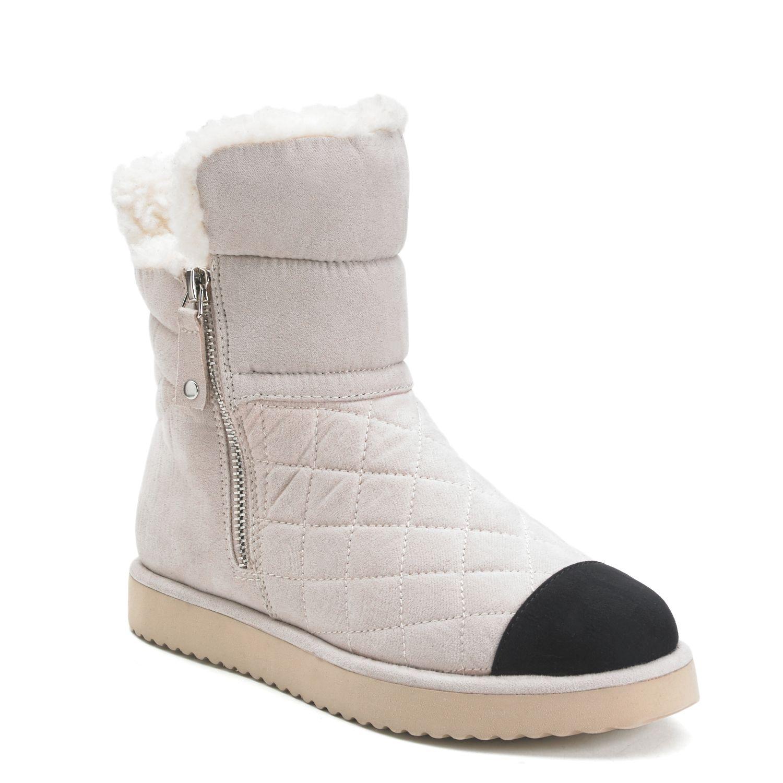 Fur boots under 50 dollars