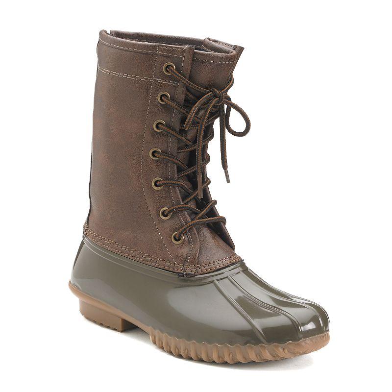 Madden Girl Flurryy Women's Duck Boots