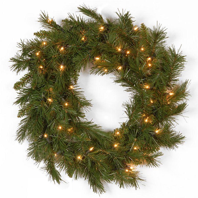 20-in. Pre-Lit Winchester Pine Artificial Wreath