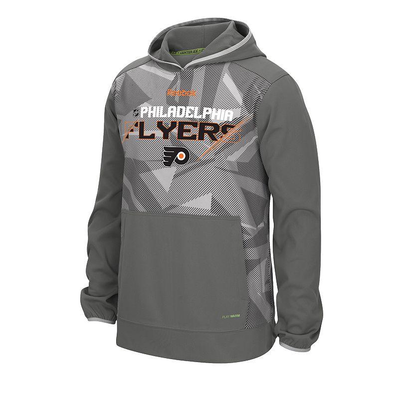 Reebok Men's Philadelphia Flyers TNT Pullover Hoodie