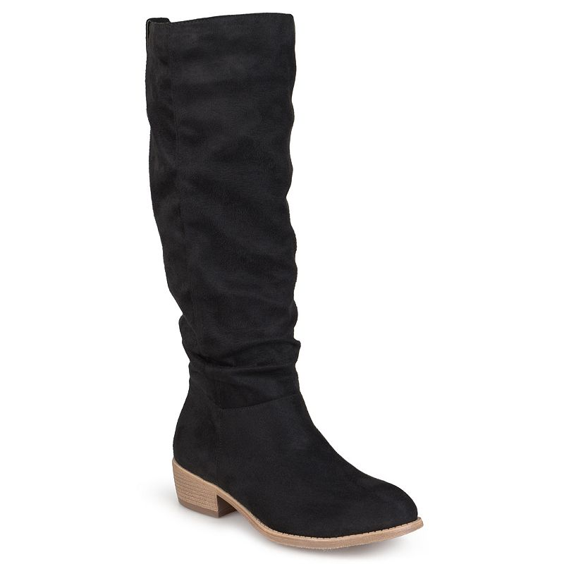 Journee Collection Moon Women's Heeled Riding Boots