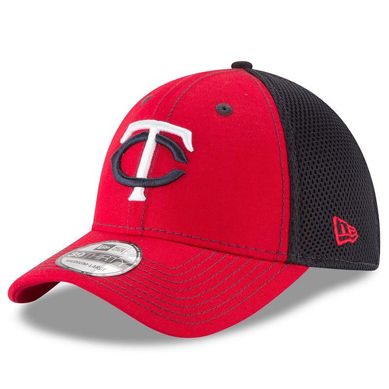 Adult New Era Minnesota Twins 39THIRTY Team Front Neo Flex-Fit Cap