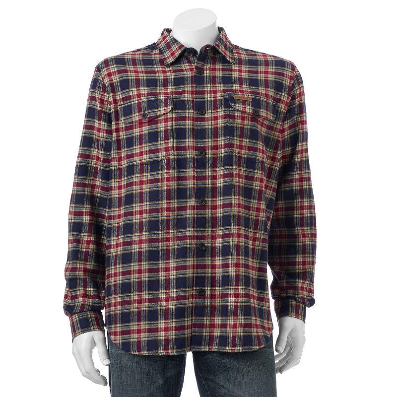 Men's Field & Stream Plaid Field Flannel Shirt