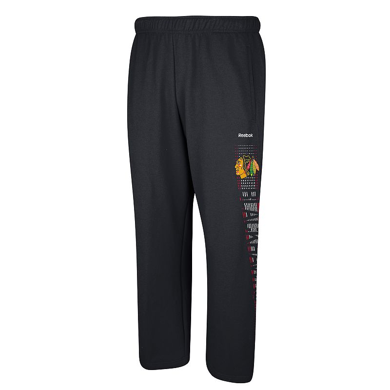 Men's Reebok Chicago Blackhawks Swipe Tech Pants