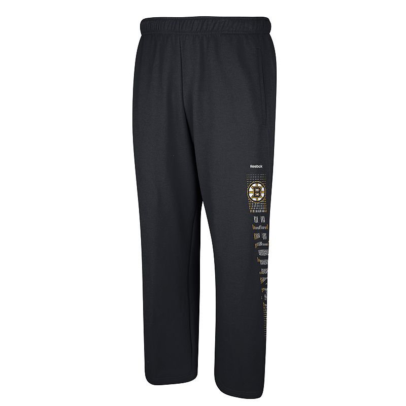 Men's Reebok Boston Bruins Swipe Tech Pants