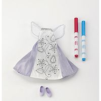 Madame Alexander Pixie Doodles Fairy Dress Set