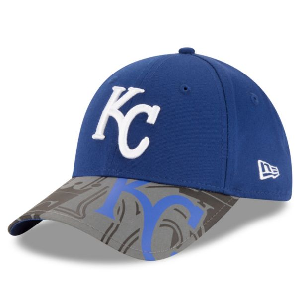 Youth New Era Kansas City Royals 9FORTY Reflect Fuse Snapback Cap
