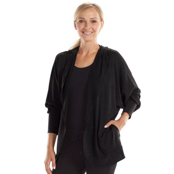 Women's bliss Spa Set Incredible Open-Front Lounge Hoodie